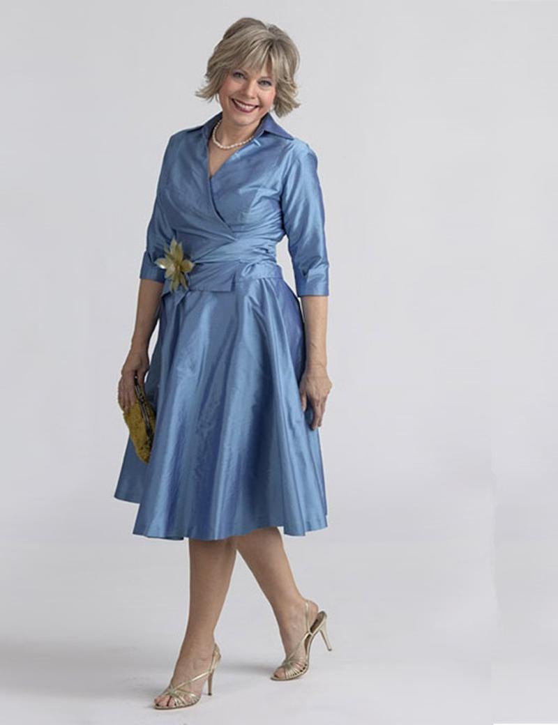 красивые платья для женщин 50 лет фото