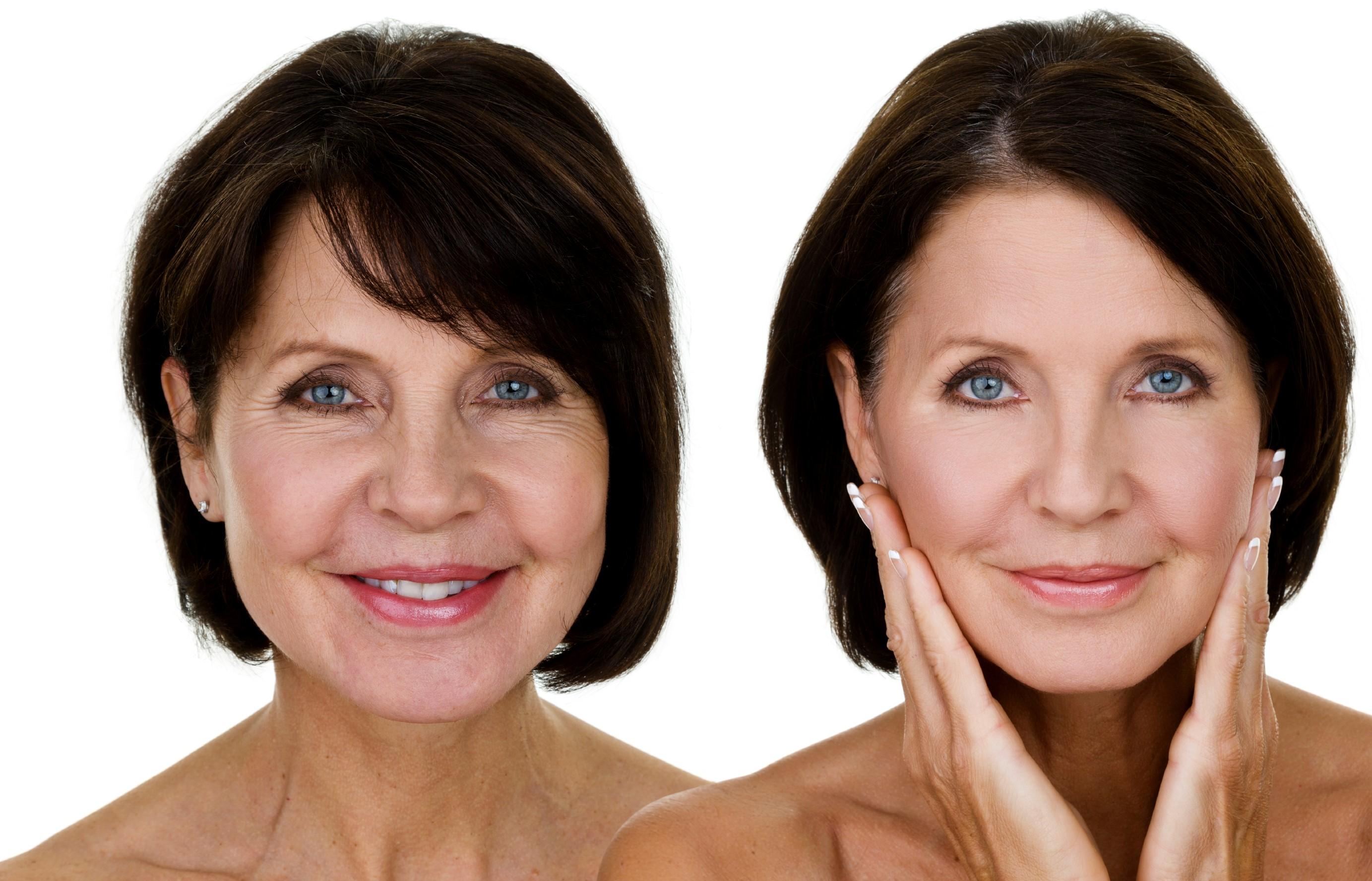 макияж для 60 летних женщин фото