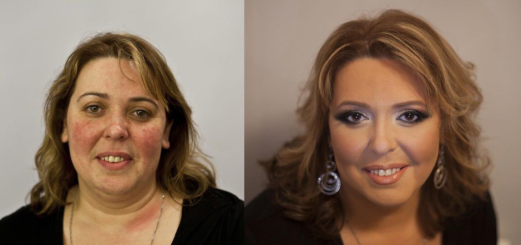 макияж для женщины 60 лет пошагово видео