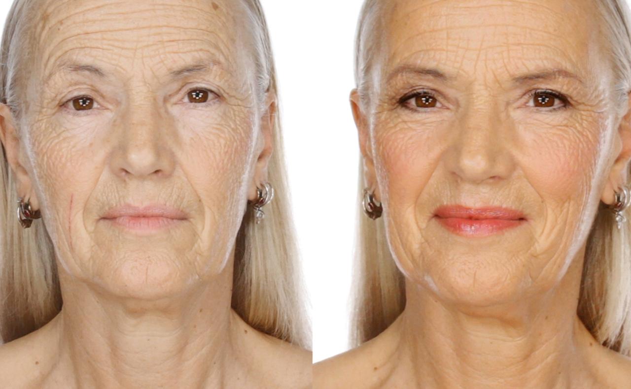 макияж после 60