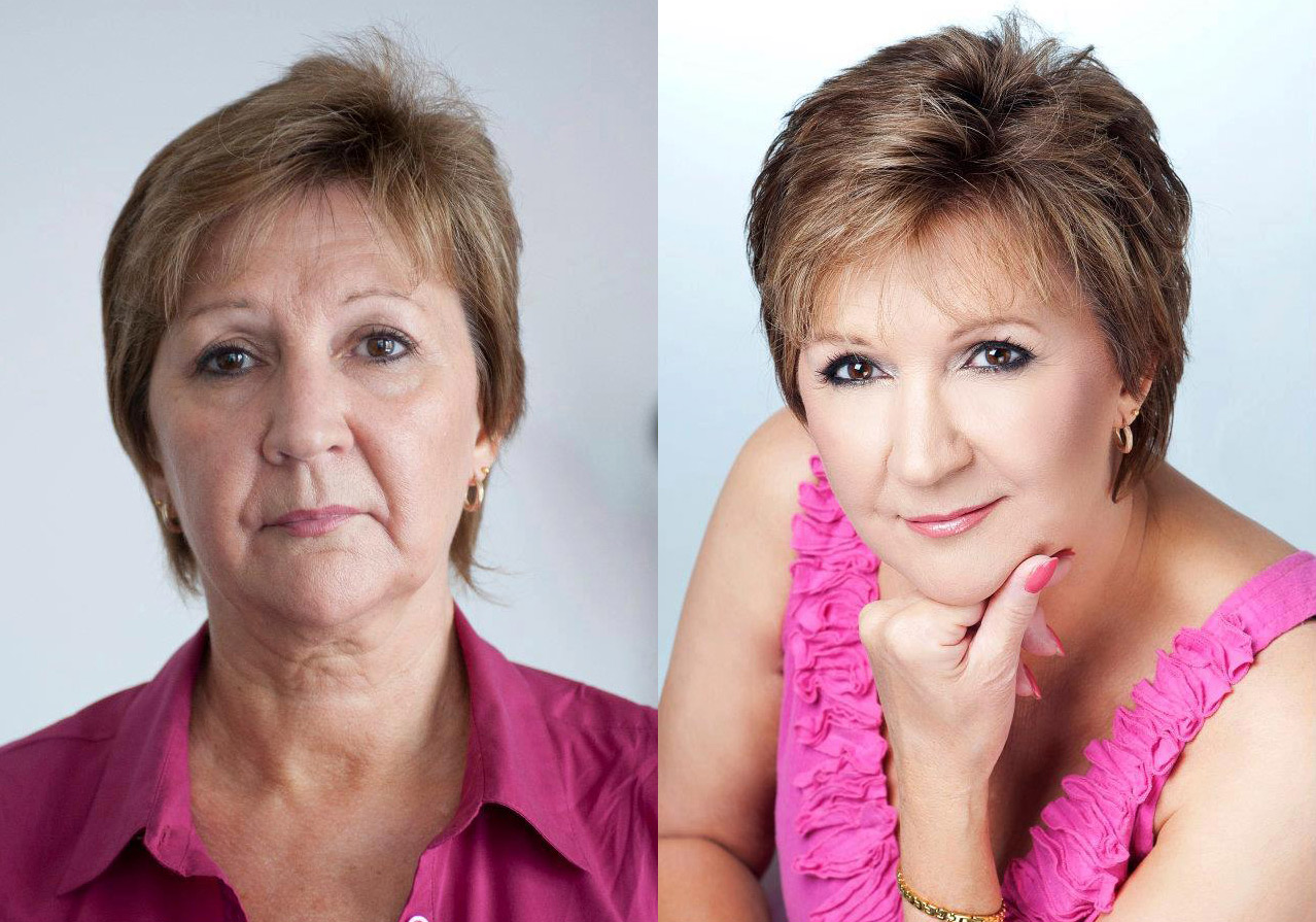возрастной макияж после 60 лет