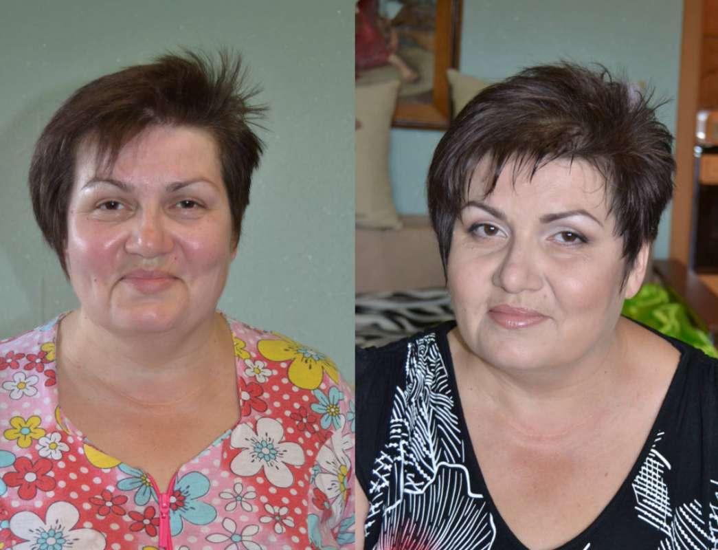 макияж глаз после 60 лет