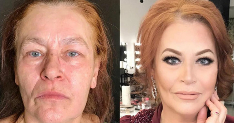 макияж после 60 лет в домашних условиях