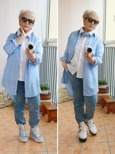 одежда для пожилых полных женщин после 60