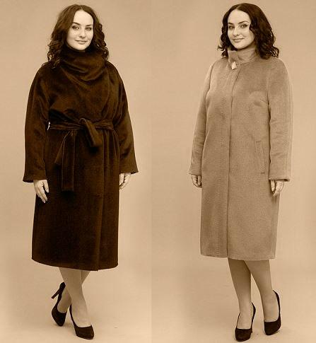 осенние пальто для женщин 55 лет