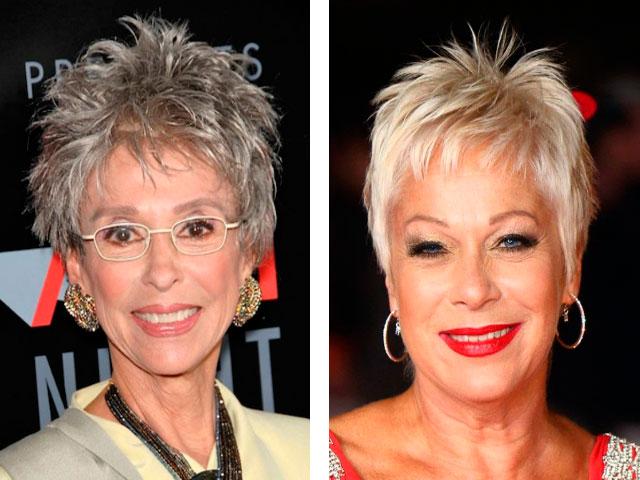 стрижка после 60 лет для тонких волос