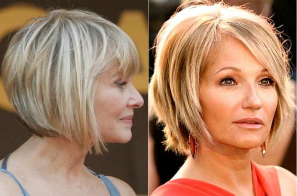 какой цвет волос подобрать в 60 лет