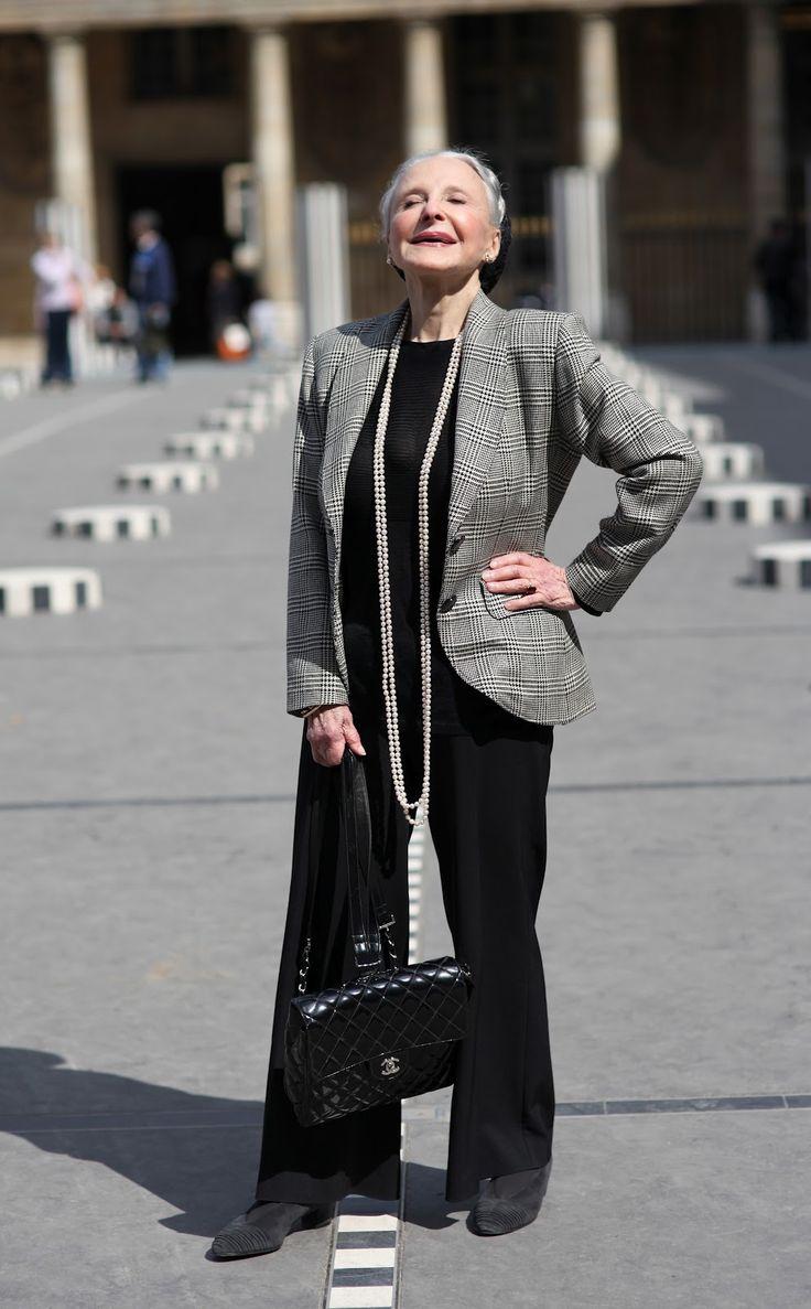 Как быть модной в 60 - 65 лет