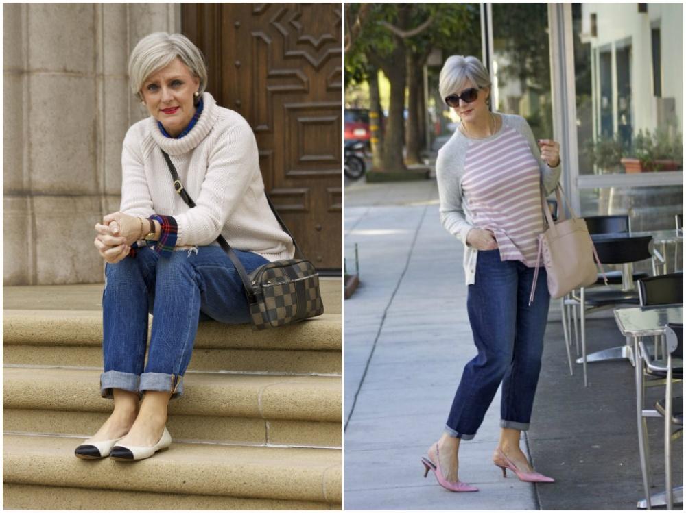 джинсы для женщин после 50 лет фото