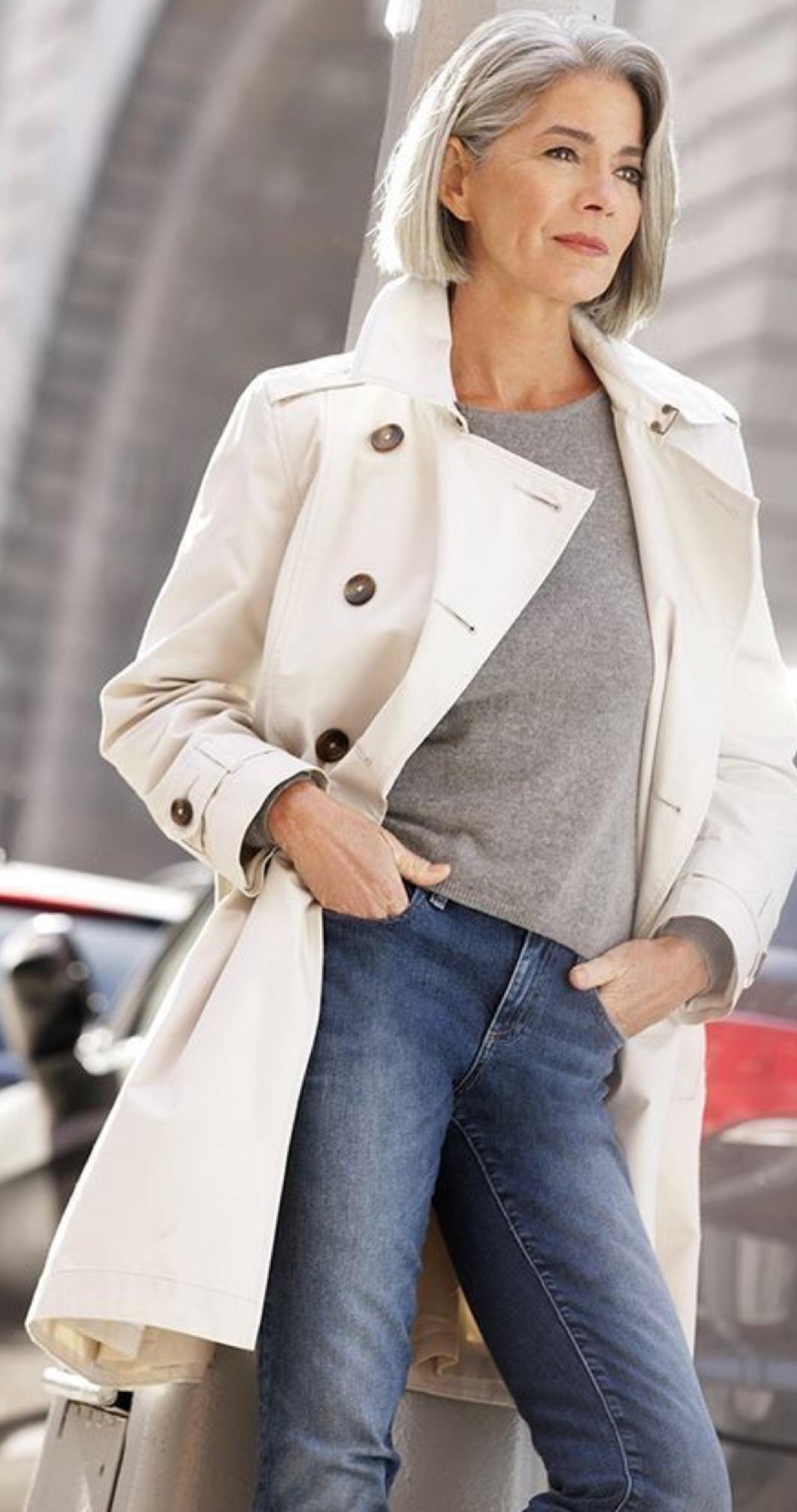 весенний гардероб женщины 50 лет