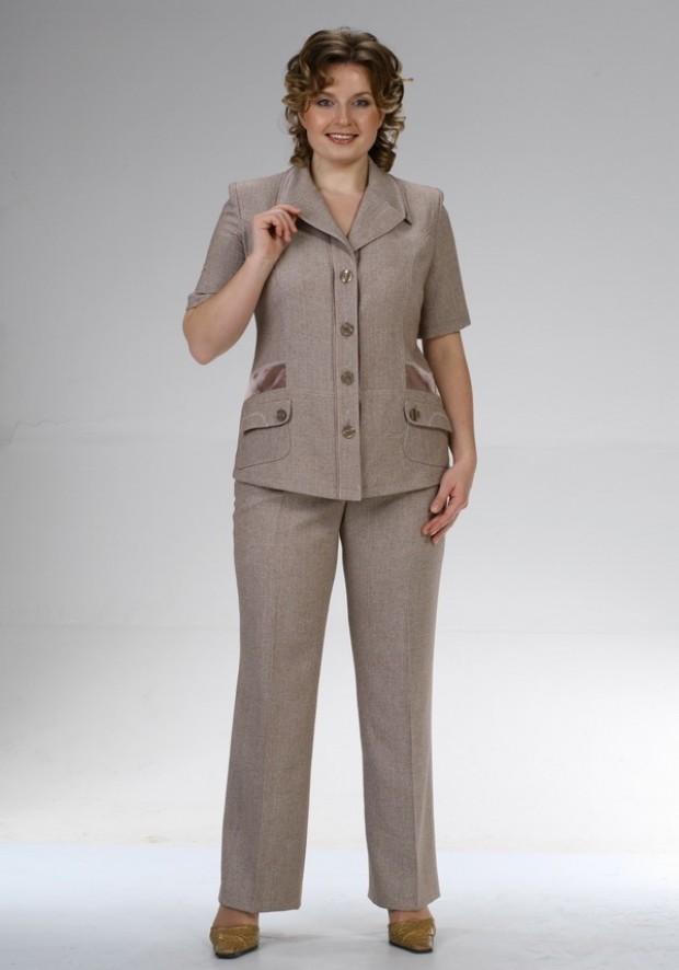 брючные костюмы для женщин за 50 лет