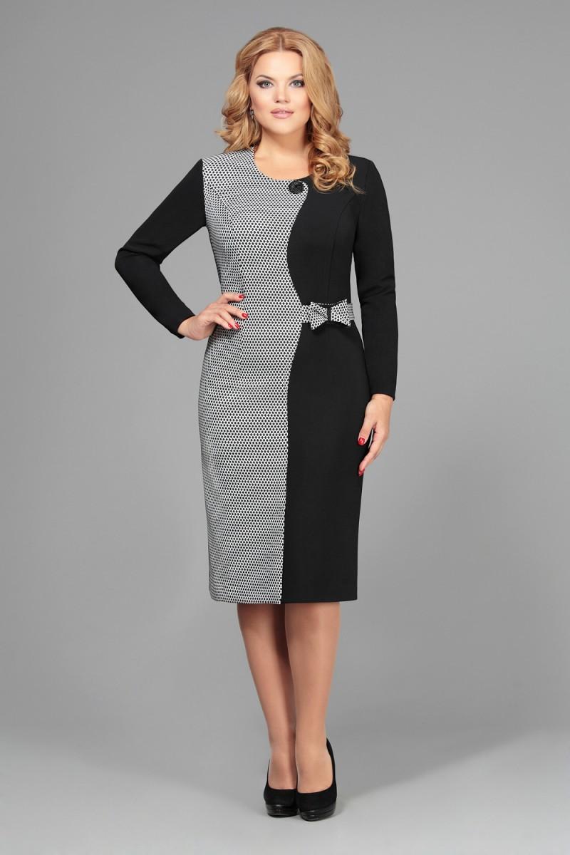 платья для полных женщин 50 лет фото