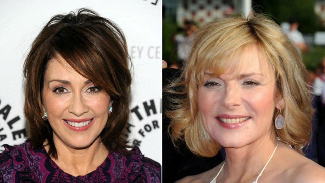 прически на средние волосы после 50 лет
