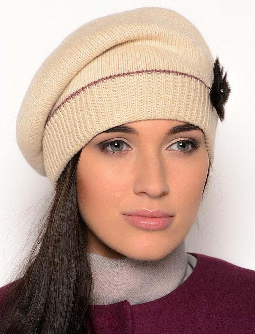 вязание спицами шапки для женщин 50 лет