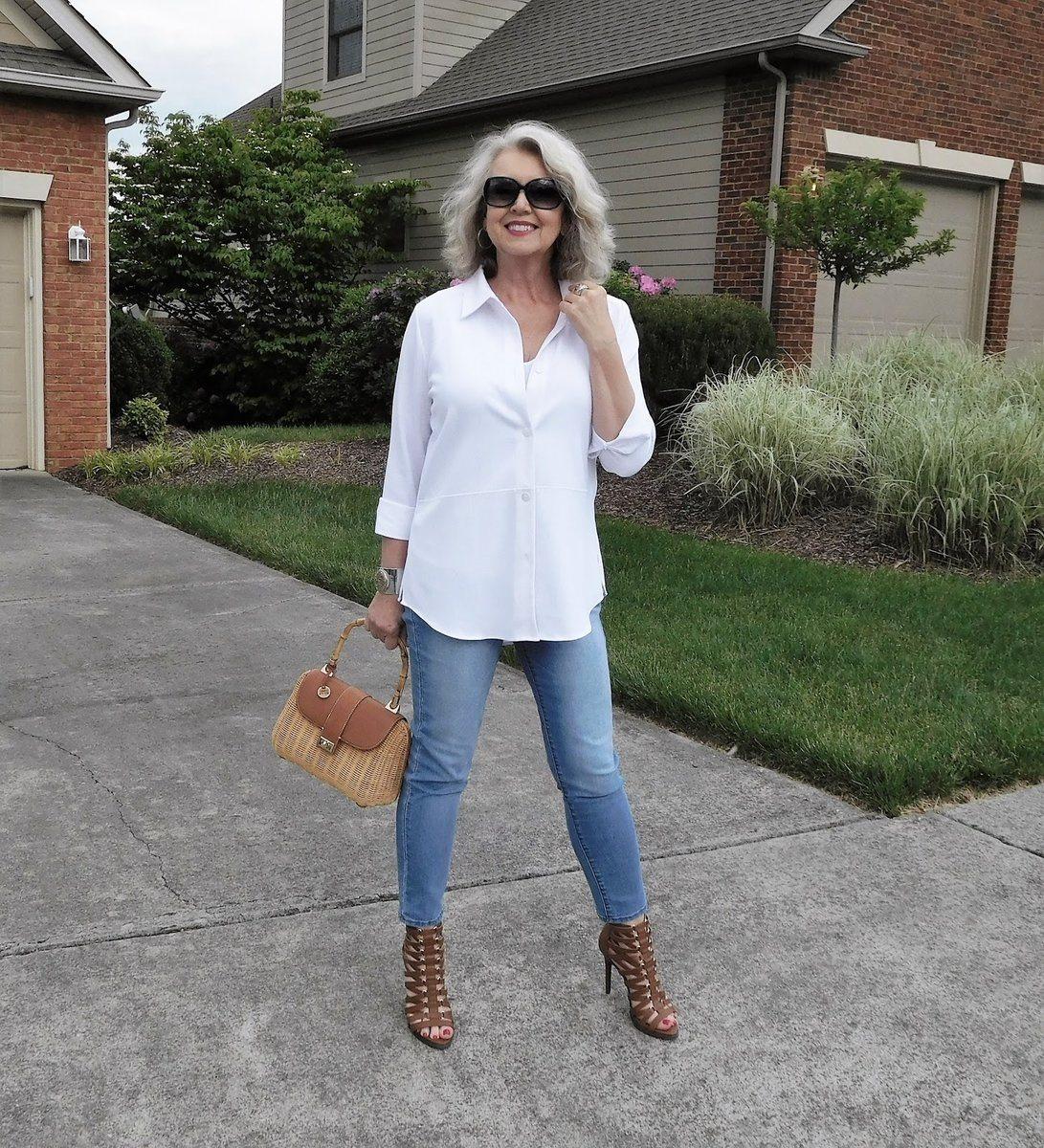 джинсы для женщин после 45 лет фото