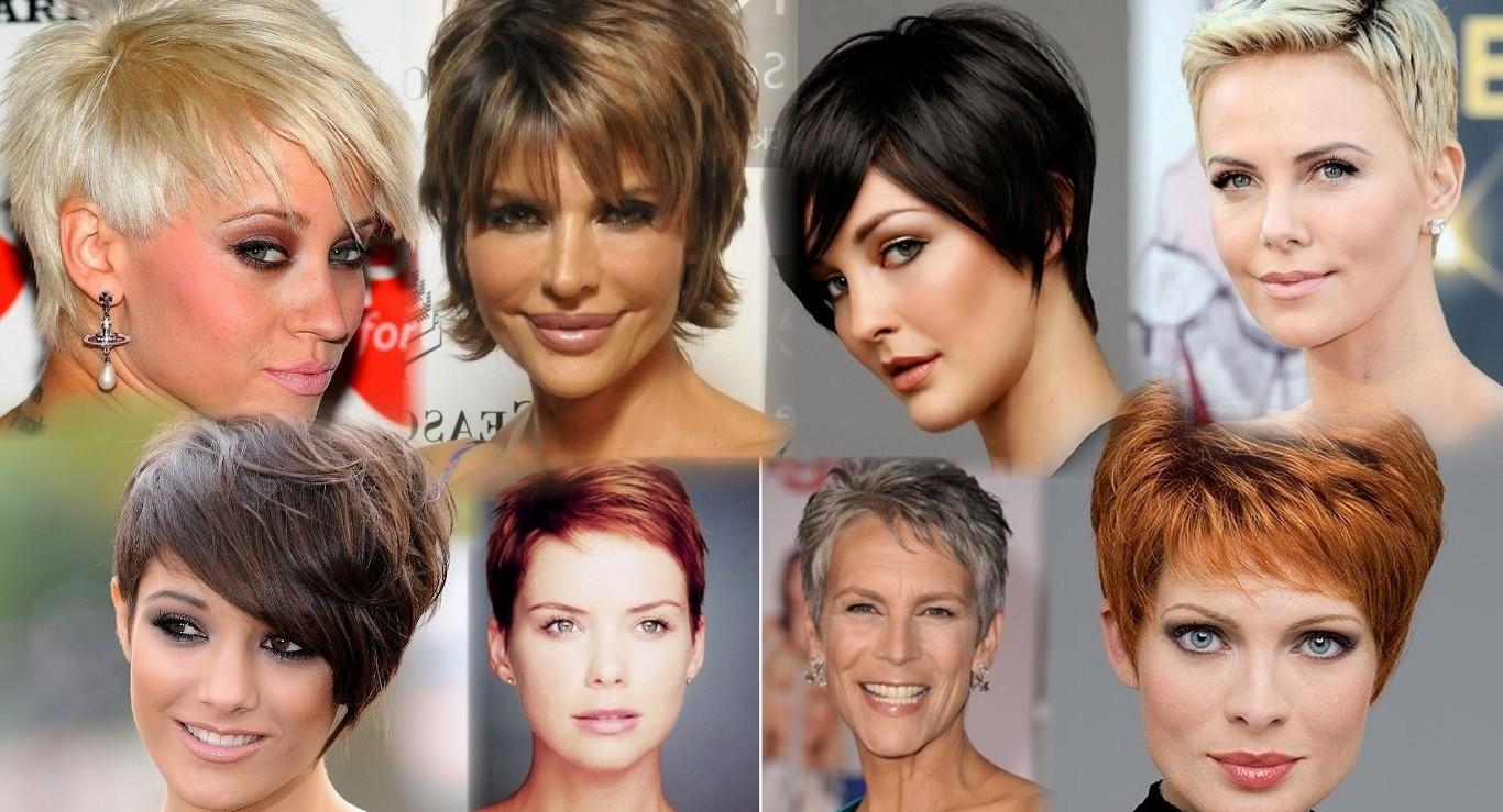стрижки на короткие волосы 2018 после 45