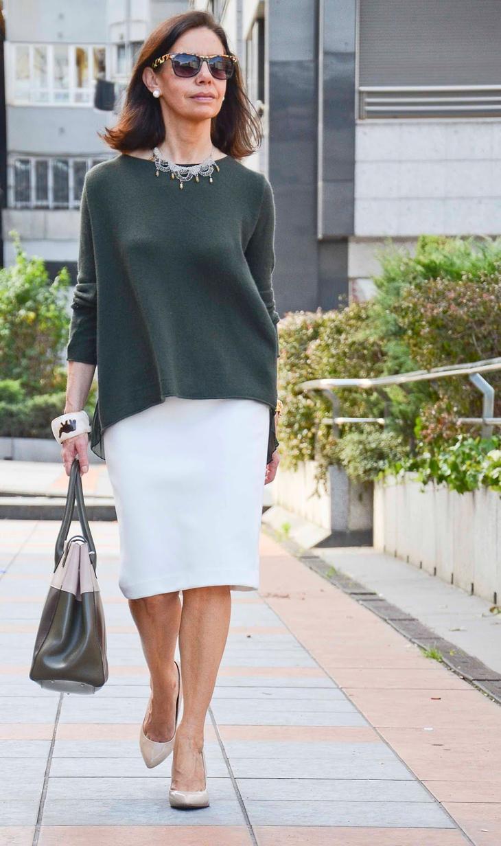 весенняя мода для женщин за 50