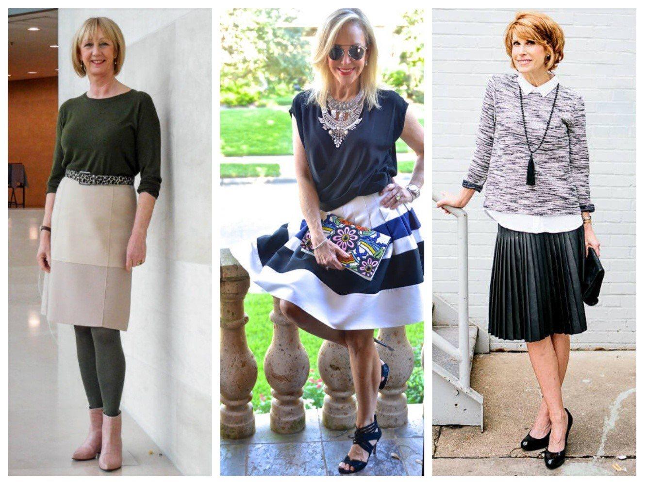 весенняя мода для женщин 65 лет 2019