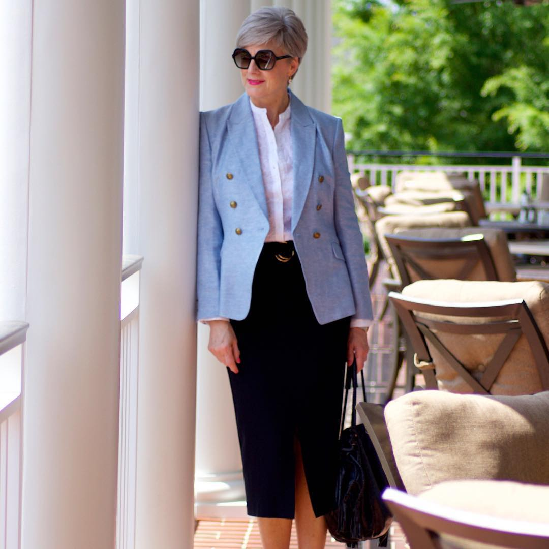 мода весна 2019 для женщин 50