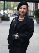 вязаные шапки для женщин 60 лет фото