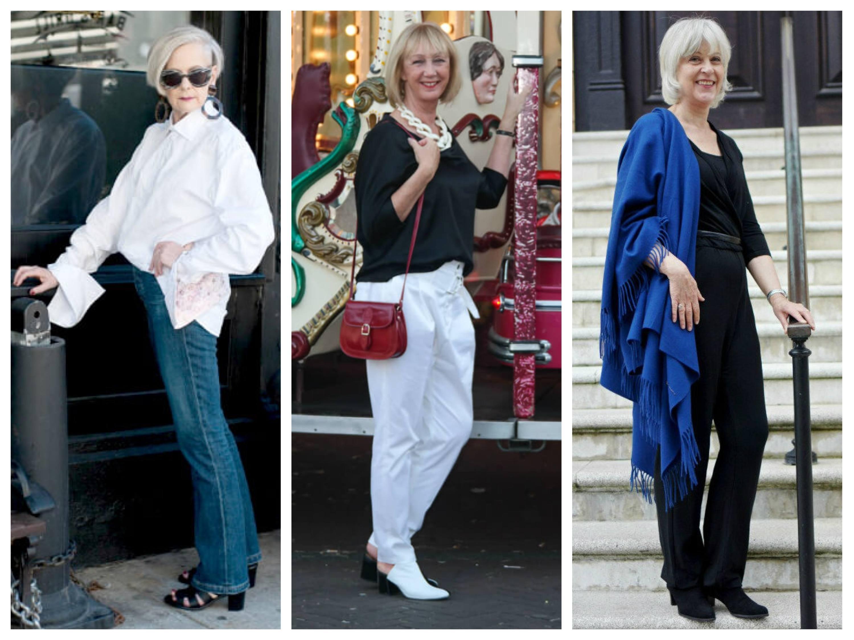 стиль кэжуал для женщин 40 лет фото