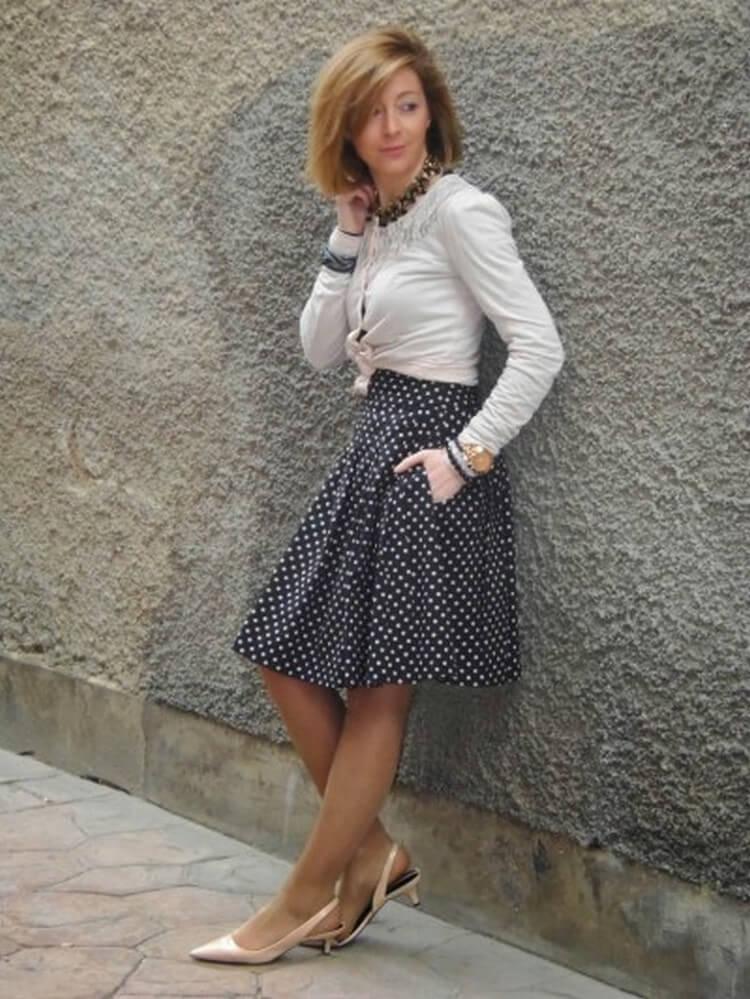 юбка шорты для женщин после 40 лет