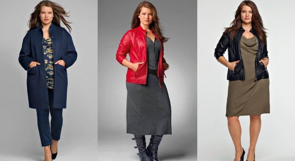 мода для полных женщин 35 лет фото