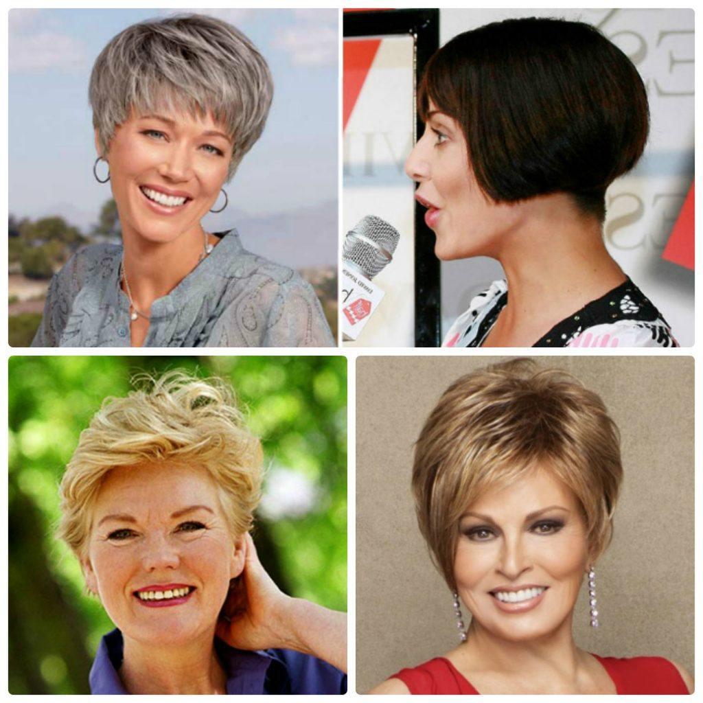 короткие стрижки для женщин после 40 лет