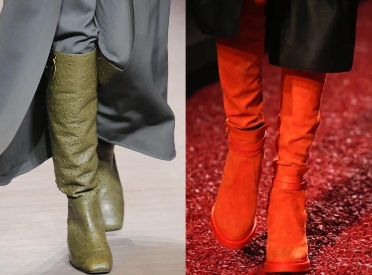 мода зима 2019 обувь