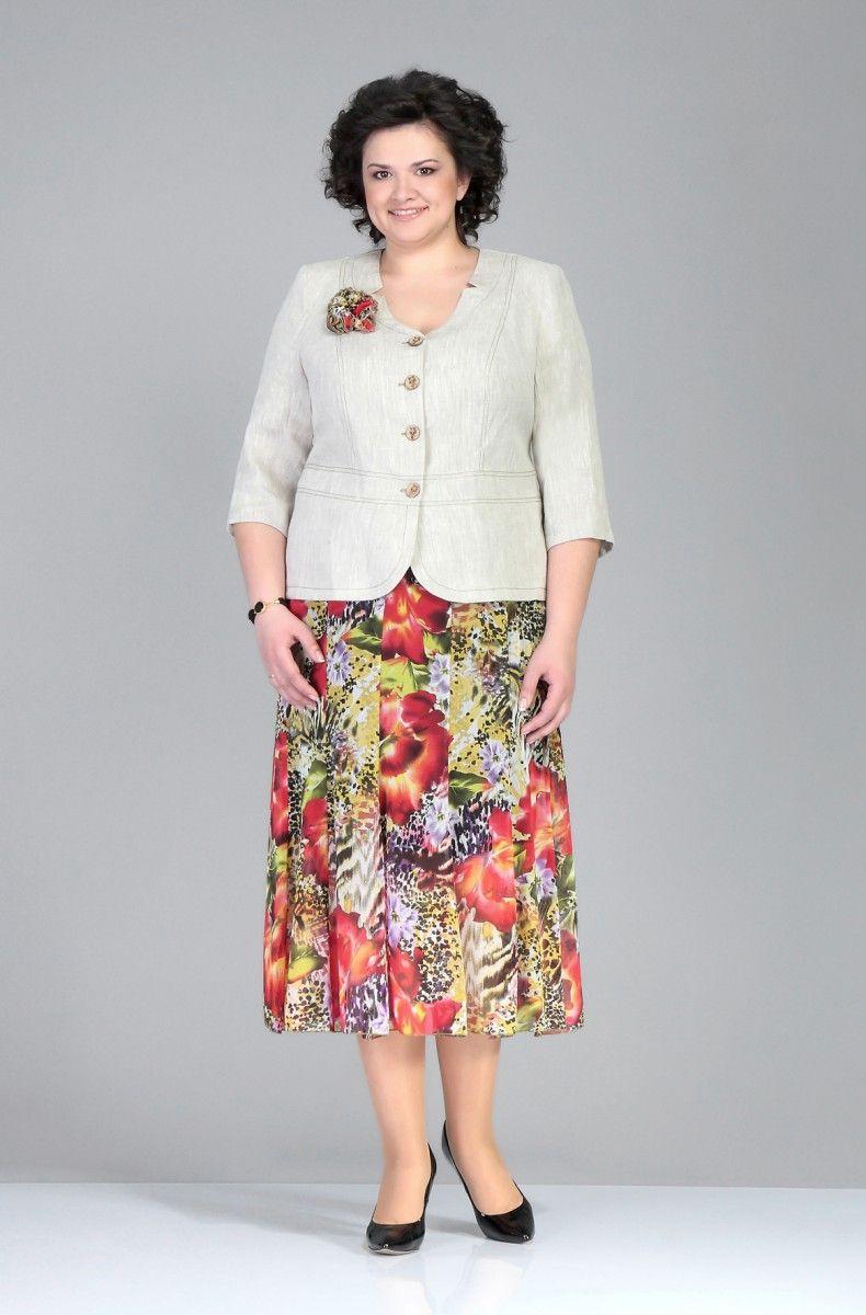 мода для полных женщин после 50