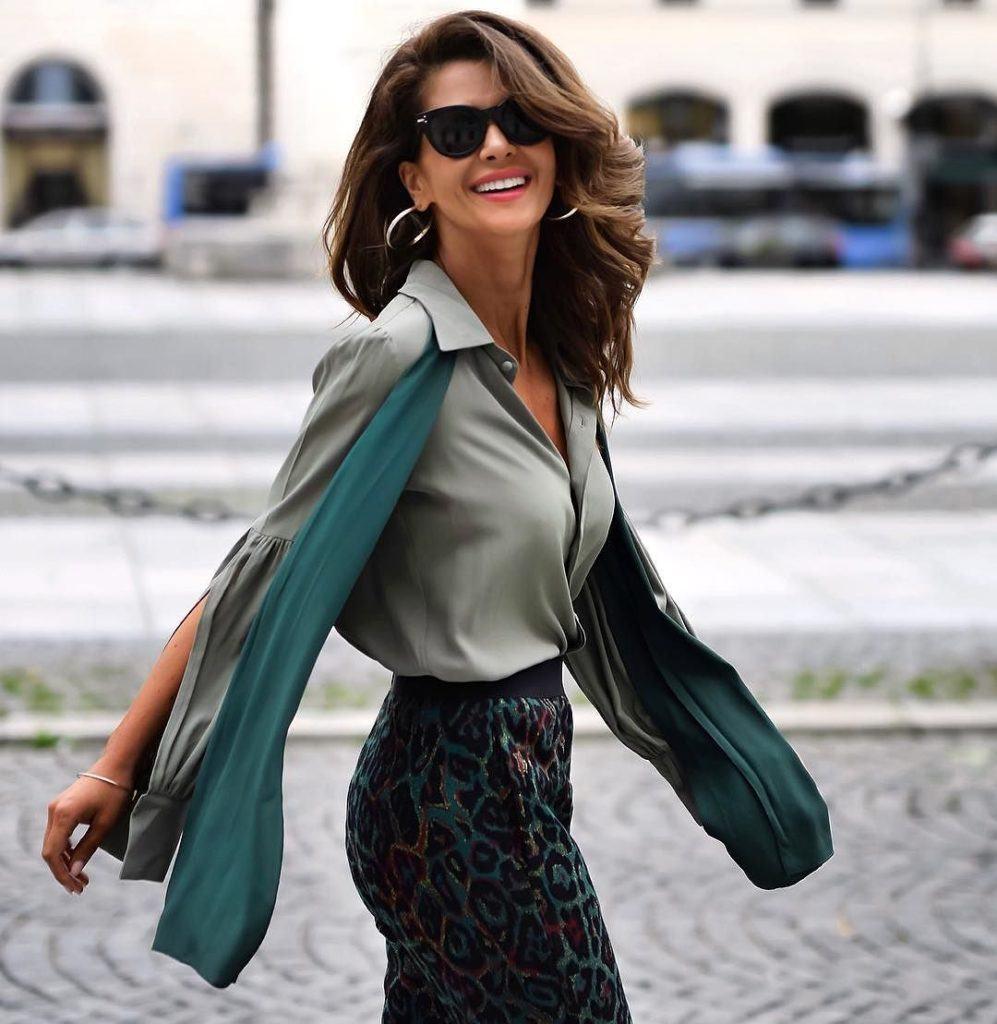 модные луки для женщин за 40