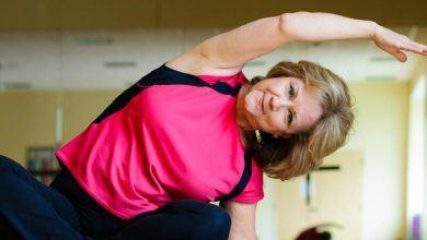 йога для пожилых 60