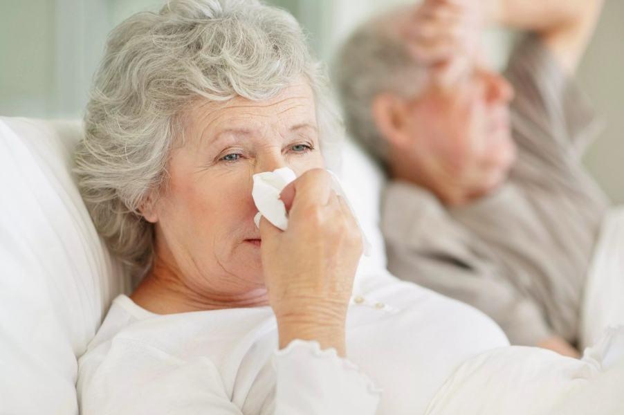 причины потливости у женщин старше 60 лет