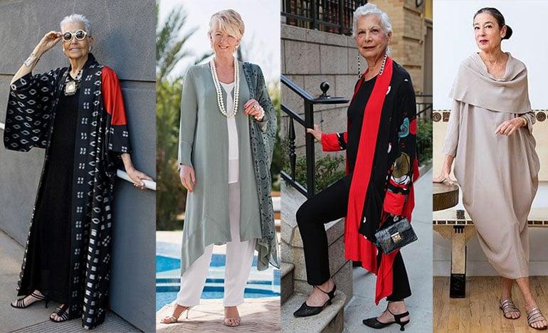стиль одежды для женщины 60 лет фото
