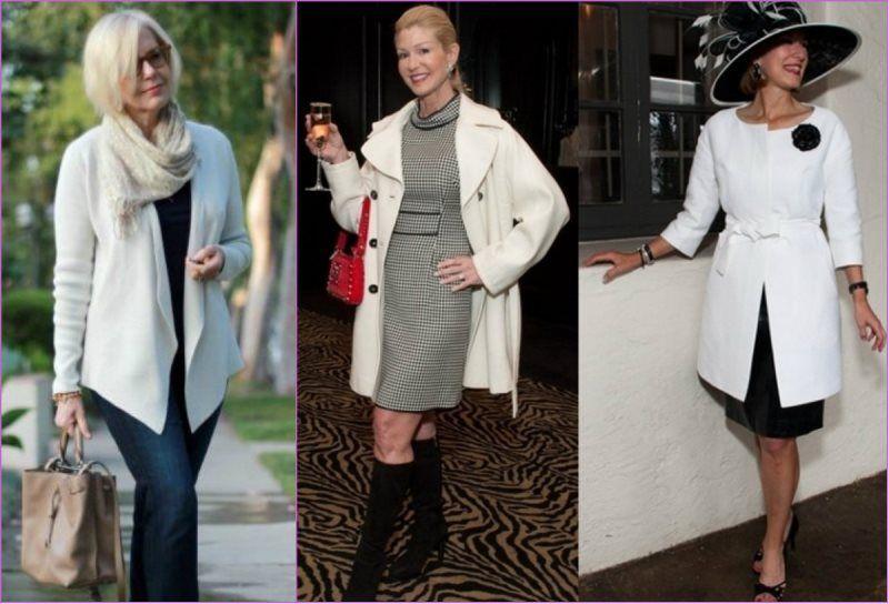 одежда для женщин за 60 стиль фото