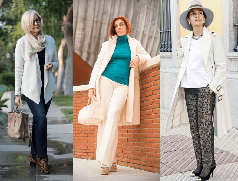 стиль женщины после 60 лет