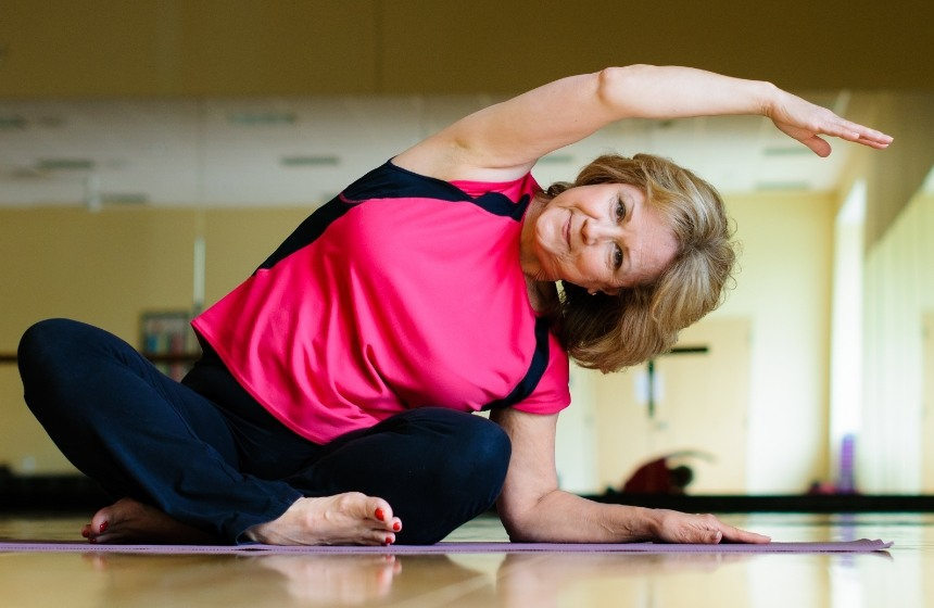 Гимнастика для женщин после 60 лет