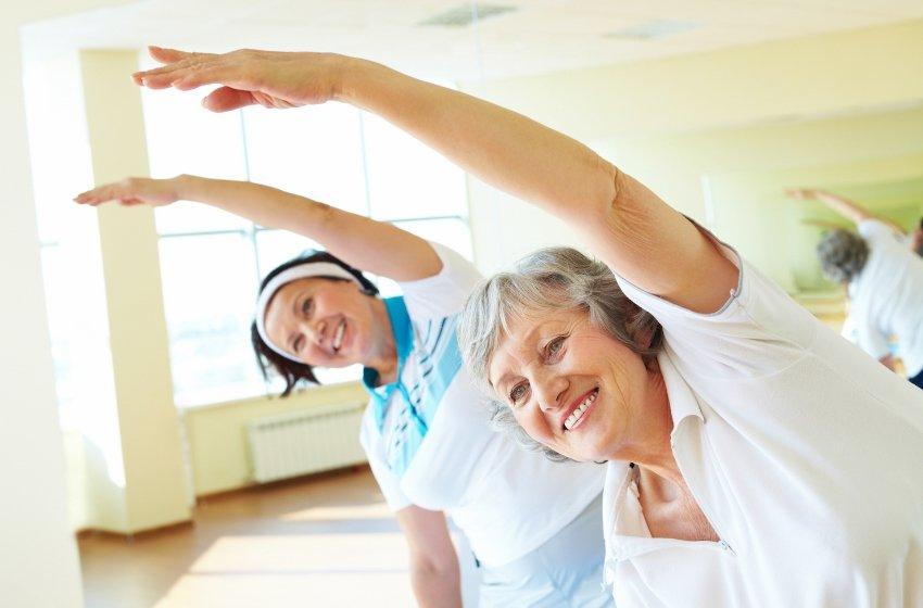 фитнес в 60 лет