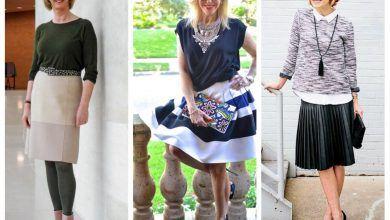 юбки для женщин после 60 лет фото