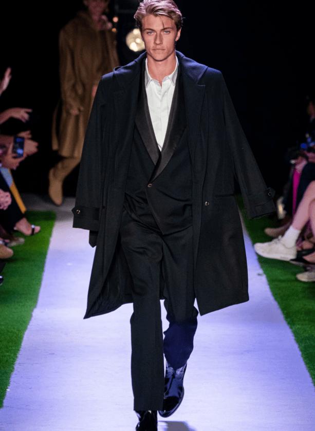 Brandon Maxwell на неделе моды