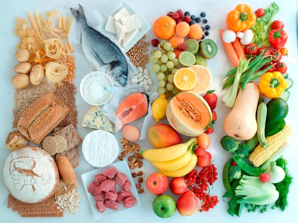 Богатые витамины продукты