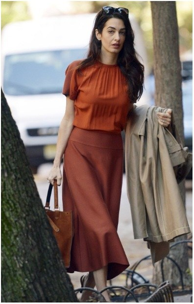 Новый образ Амаль Клуни